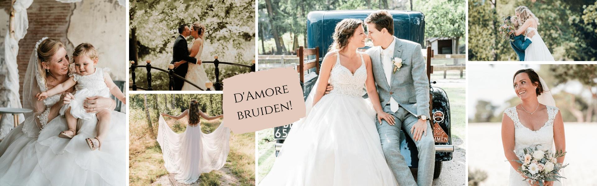 Website banner damore bruiden